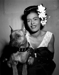 Billie Holiday | Legends of Jazz Billie Holiday| Legends of Jazz Billie Holiday (nicknamed Lady Day) was a seminal influence on jazz and pop singing. Description from pinterest.com. I searched for this on bing.com/images