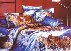 Obliečky 3D-VLCI- 5 Comforters, Blanket, Bed, Home, Creature Comforts, Quilts, Stream Bed, Ad Home, Blankets