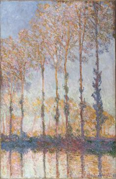 Monet, Claude - Peupliers au bord de l'Epte - Philadelphia Museum of Art