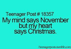 @baileyhuber345 @joaniebaloney96   Once again, yep! ONLY ONE MONTH EXACTLY UNTIL CHRISTMAS!!!!!!!!!!!!!!!!!!!!!!!!!!!!!!!!!!!!!!!!!!!!!!!!!!!!!!!!!!!!!