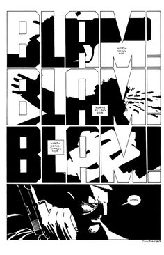 """Worth going to hell for..."" SIN CITY by Frank Miller."