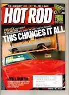 Hot Rod Magazine Oct 2004 All-New 1969 Camaro Mike Moran 10-Liter Hemi Chevy
