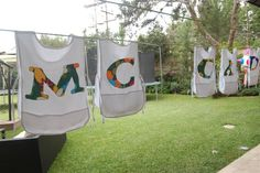 Artist party gifts...cricut letters