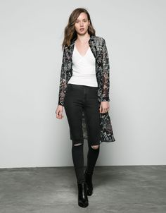 Bershka Italy - Jeans Skinny high waist Bershka