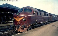 DSB MY 1202 Train Truck, Odense, Copenhagen, Scandinavian, Transportation, Tourism, Around The Worlds, History, Beautiful