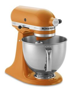 Oh KitchenAid stand mixer...I want you!