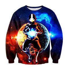 Avatar The Last Airbender All-over Print Sweatshirt