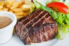 Incredible recipe for a Charhouse Grilled Beef Steak for your George Foreman Grill.