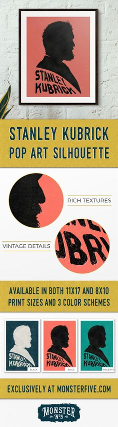 Orson Welles Silhouette, 11x17 Pop Art Cameo, Filmmaker Portrait ...