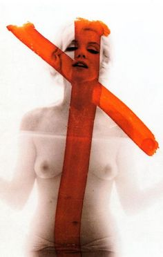 Bert Stern, Monroe, six weeks before her death, taken for Vogue (The Last Sitting, a collection of 2,500 photographs taken of Marilyn Monroe over a three day period)