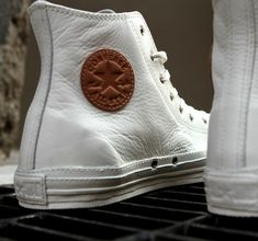 white, leather high-top chucks! Fancy - Converse Chuck Taylor Premium