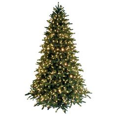 Ge 7 1 2 ft fir pre lit artificial christmas tree with 800 count