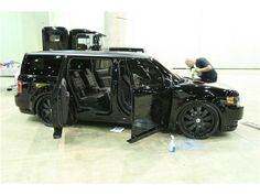 Mobsteel Murdered Out Ford Flex - 13..just fell in love w my truck all over again