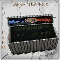 Mesh Juke Boxe no sound 3 impact copy modify