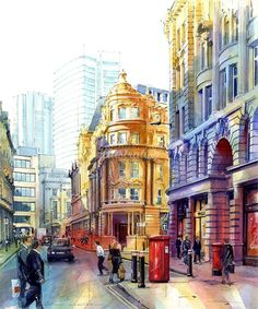 John Walsom (Artist) – Architectural and Streetscapes Illustrator