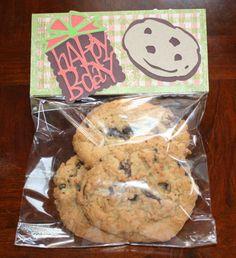 Cookie Gift Bag!! Cricut Sesame Street Friends…