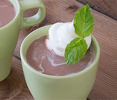 Peppermint Matcha Hot Chocolate Matcha, Hot Chocolate, Peppermint, Giveaway, Pudding, Desserts, Food, Mint, Tailgate Desserts