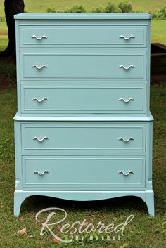 """""""SIMPLY SEAFOAM""""   General Finishes"""