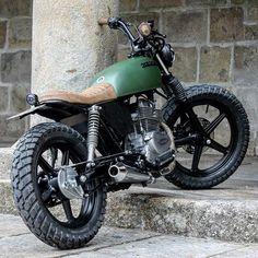 #Honda CB250 #streettracker | caferacerpasion.com