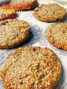 Galletas de avena y quinoa