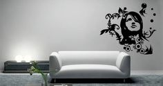 Change the look of your rooms in a heartbeat with Dezign With a Z's Paula removable wall decals. Custom Wall Decals, Removable Wall Decals, Home Renovation, Home Remodeling, Wall Murals, Wall Art, Wall Tattoo, People Art, Vinyl Designs