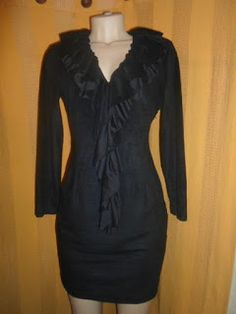 Brecho Online - Belas Roupas: Vestido de Camurça