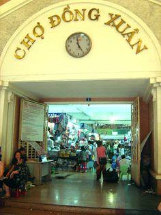 Dong Xuan Market - Hanoi - Vietnam http://www.vietnamitasenmadrid.com/hanoi/mercado-dong-xuan.html