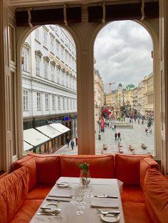 Vienna, view from Meinl am Graben Salzburg Austria, Heart Of Europe, Top Place, Versailles, Vienna, Cities, Trips, Explore, World