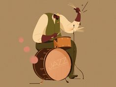 An illustration collection about Jazz