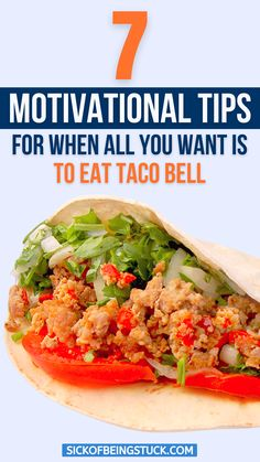 Learn 7 best motivational tips to hold your resolution of not eating tacos. Also grab motivation to crash your workout goals. #workoutmotivationquotes #workoutmotivation #workoutinspiration Natural Herbs, Natural Health, Health Tips, Health And Wellness, Eating Tacos, Mexican Food Recipes, Ethnic Recipes, Motivational Quotes For Working Out, Natural Cleaning Products