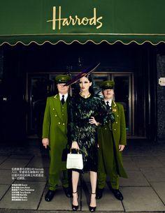 Bonnie Chen in Gucci for Harper's Bazaar, China - July 2012