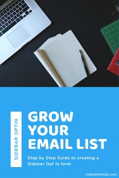 Everyone always talks about opt in forms but how do you actually create one? Learn exactly how to grow your email list with this sidebar optin form Stuff For Free, Content Page, Your Email, You Loose, Email List, Text You, Step Guide, Email Marketing, Online Business