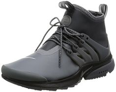 Nike Womens W Air Presto Mid Utility DARK GREYDARK GREYREFLECT 8 US *** For more information, visit image link.
