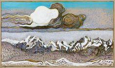 BillyChildish-The-grate-cloud-after-Segantini-2014-olio-e-carboncino-su-lino-cm-183-x-305.jpg (750×450)