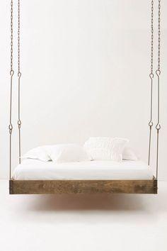 barnwood hanging bed anthropologie