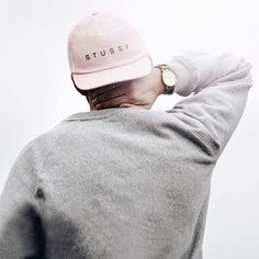 Everyday essentials. | #UOMens | @UrbanOutfittersEU @ulmn |  Stussy Pink Strapback Baseball Hat - SKU #37656204