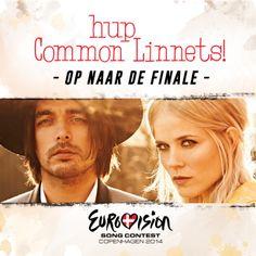 Rabarber wenst #Waylon en Ilse veel succes op het EK liedjes-zingen vanavond. Hup Holland hup! #songfestival #commonlinnets
