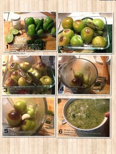 Tomatillo salsa Mexican Salsa Recipes, Mexican Dishes, Tomatillo Salsa Verde, Traditional Mexican Food, Cooking Recipes, Healthy Recipes, Dinner Is Served, Latina, Meal Planning