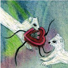 Weasel  Ferret Valentine