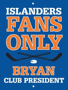 Islanders Custom Personalized Bar Sign  by thepersonalizedstore #ManCave #FathersDay #Groomsmen