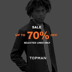 TOPMAN Sale alert!  Get up to 70% OFF on selected items now at the TOPMAN Mid Season Sale from October 1 – 19, 2016 only!  Shop the freshest lines now at Robinsons Galleria, Robinsons Place Manila, Robinsons Magnolia, Power Plant Mall, Shangri-La Plaza, Greenbelt 3, TriNoma, Alabang Town Center, SM Aura Premier, SM Mall of Asia, Mega Fashion Hall and Ayala Center Cebu.  For more promo deals, VISIT http://mypromo.com.ph/!