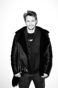 Terry Richardson's Diary -  May 24, 2013. James Franco at my studio #2