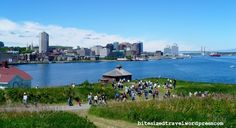 Summer on Georges Island in Halifax Harbour, Halifax, Nova Scotia