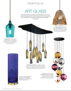 our CMJScreativ chandelier featured in Home Accents Today, Dec. '13