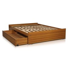 Box Bed Design, Bunk Beds With Drawers, Outdoor Furniture, Outdoor Decor, Bed Frame, Bedroom Decor, Interior Design, Wood, Bed Platform