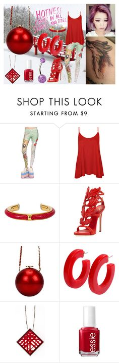 """Here I Am, This Is Me"" by loki-laufeyson-of-jotunheim ❤ liked on Polyvore featuring WearAll, Giuseppe Zanotti, Burberry, Essie, women's clothing, women's fashion, women, female, woman and misses"