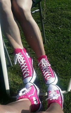 Converse slipper socks!