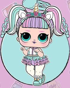Resultado de imagen de dibujo de las lol Leelah, Doll Party, Cute Wallpaper For Phone, Diy Ribbon, Lol Dolls, Unicorn Party, Baby Birthday, Fun Crafts For Kids, Birthday Party Decorations