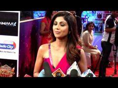 Shilpa Shetty At Red Carpet Of T-Series & Colors Suron ke Sang Salaam Sh...