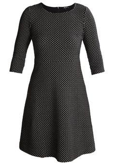 More & More Gebreide jurk black multi